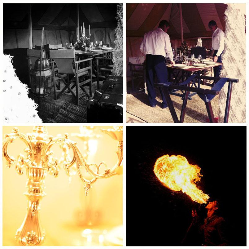 Dîner et soirée pour le Four Seasons Resort