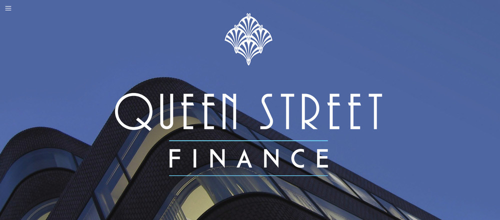 Queen Street FInance - Squarespace website