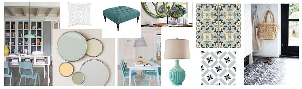 Дизайн-проект загородного дома. Подбор материалов (подбор цветовой гаммы, мебели, отделочных материалов, аксессуаров, текстиля).