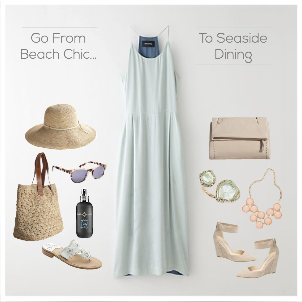 Beach To Evening Outfit