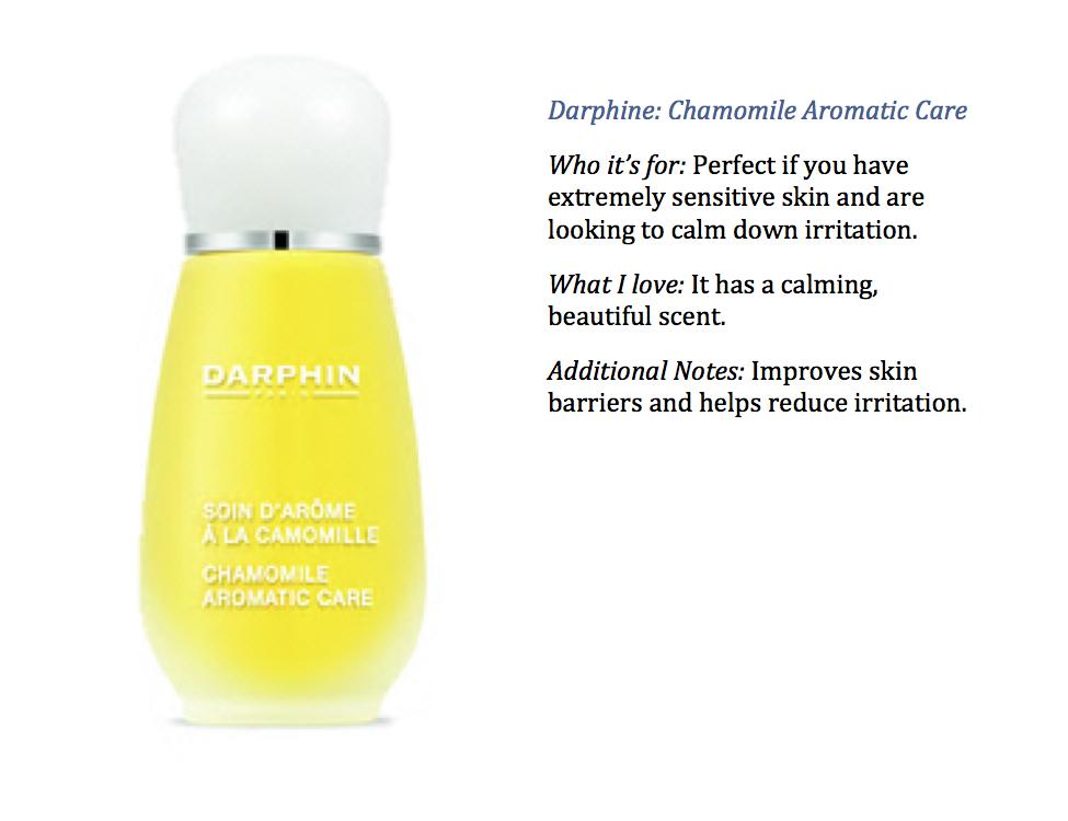 darphin face oil