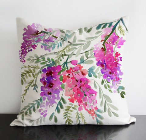 Wisteria Pillow