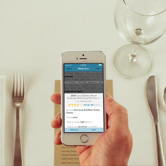 WineGlass App