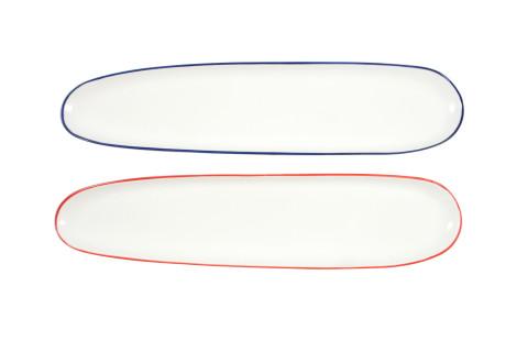 Oblong Plates