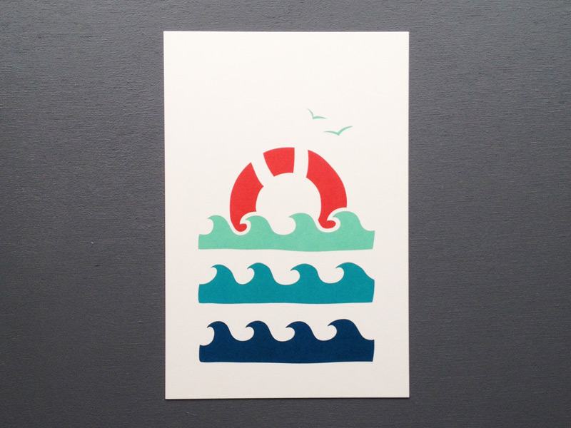waves card