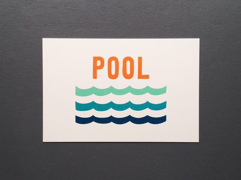 pool card