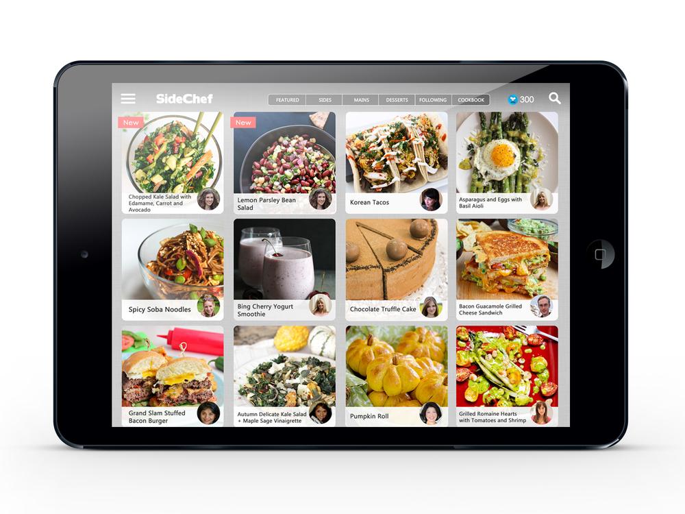 SideChef iPad Featured Recipes.jpg