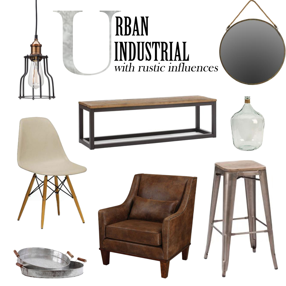 Urban industrial decor with plaidfox minck co for Urban home decor