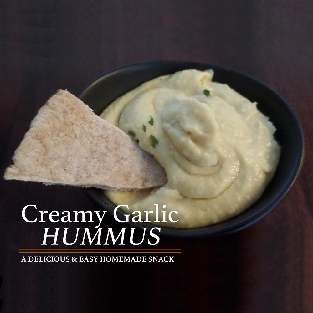 Creamy Tahini Free Hummus