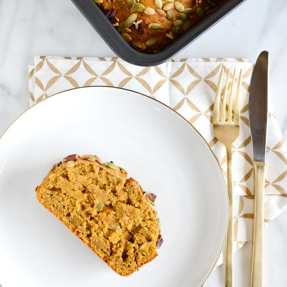Brown Butter Pumpkin Banana Bread