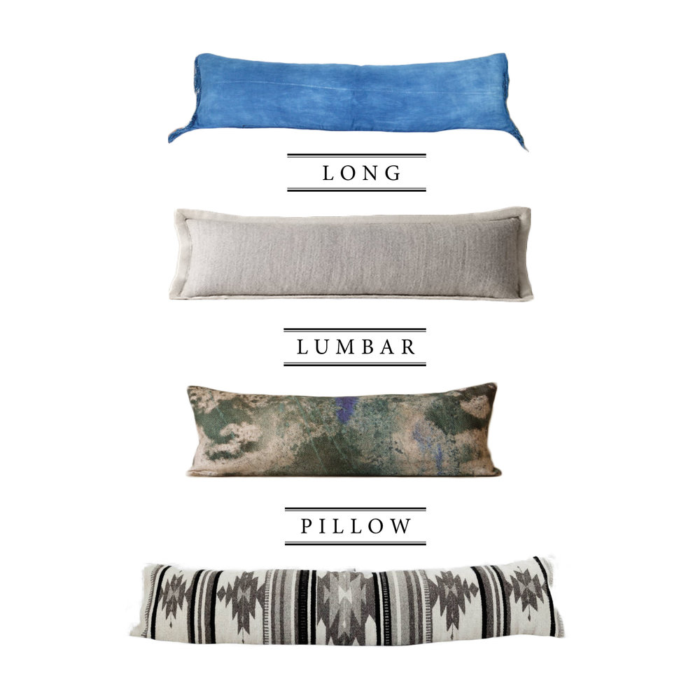 Long Lumbar Pillow