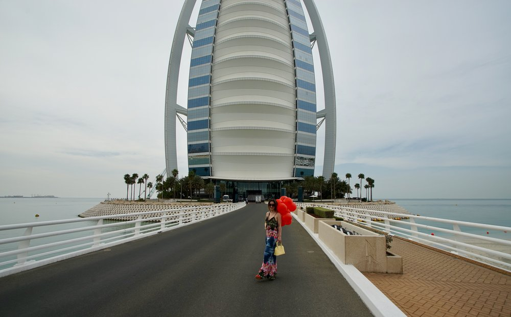 BURJ AL ARAB PHOTOGRAPHER: RONALD FISCHER