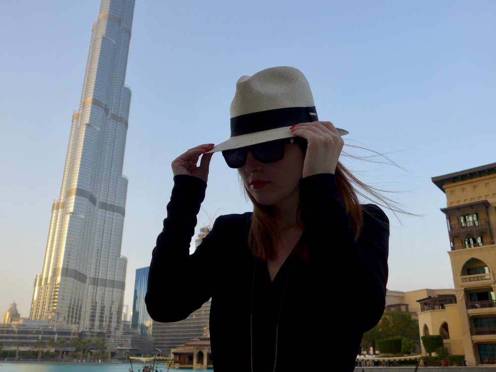 BURJ KHALIFA • DUBAI, UAE PHOTOGRAPHER: [self-timer]