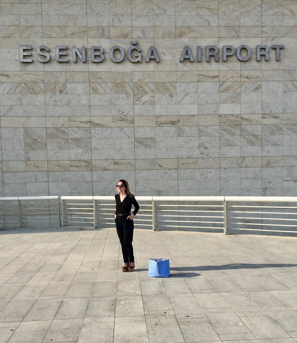 ESENBOGA INTERNATIONAL AIRPORT• ANKARA, TURKEY PHOTOGRAPHER: JOHN