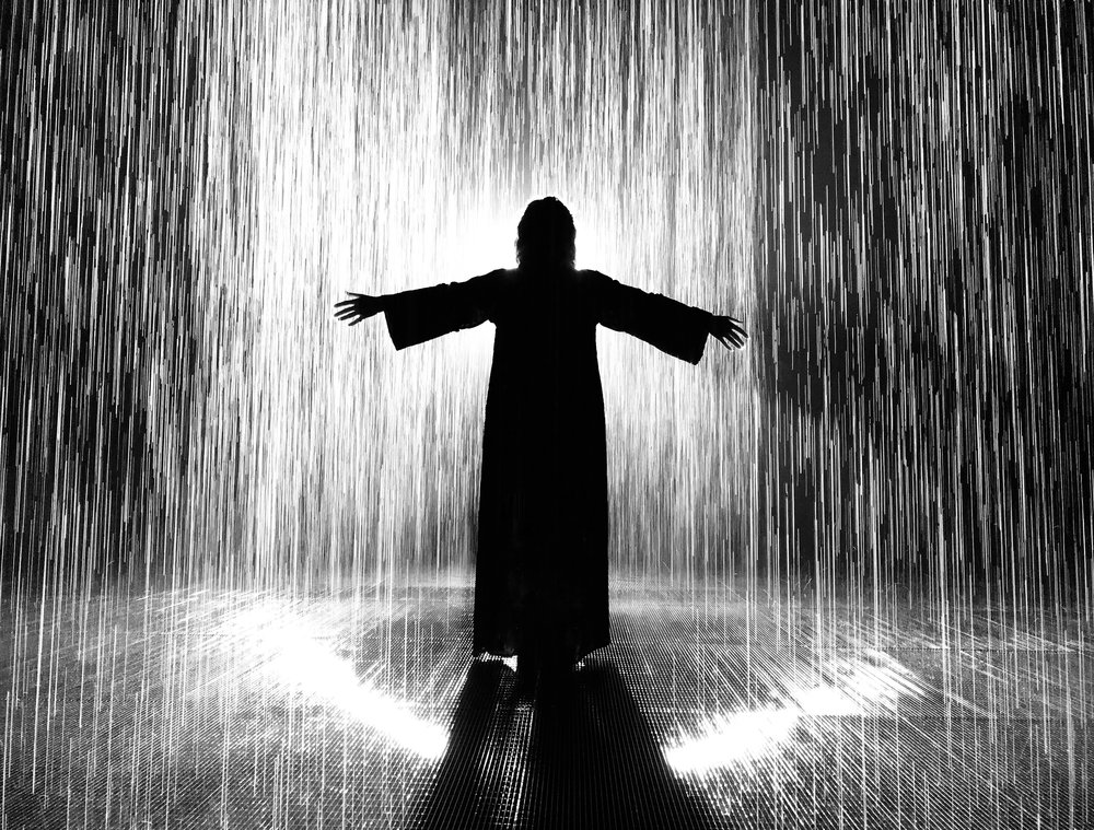 RAIN ROOM • SHARJAH, UAE PHOTOGRAPHER: WALEED