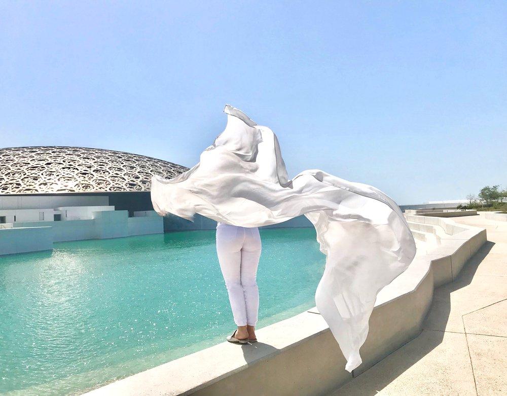 LOUVRE MUSEUM • ABU DHABI, UAE