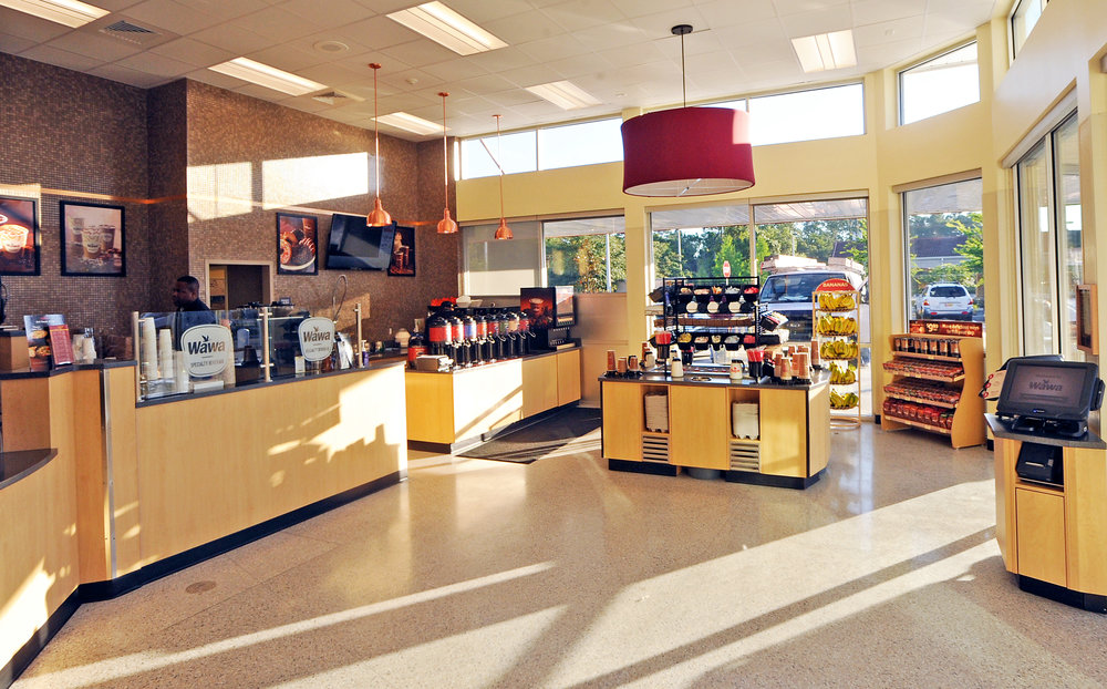 Food Wrap / Coffee Area / Condiment Island