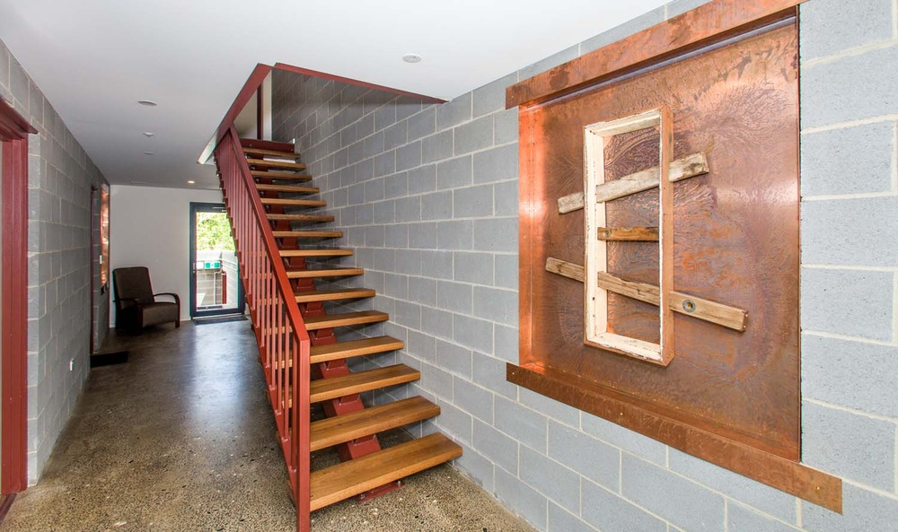 One of a Kind Apartments foyer