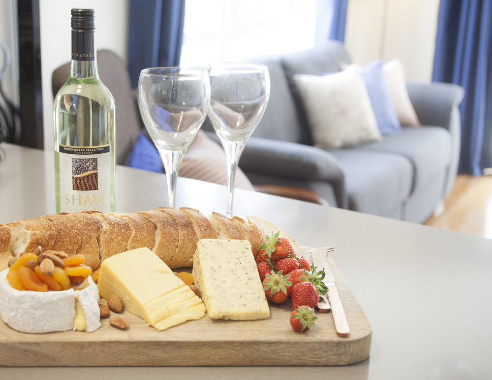 Wine and Cheese Package