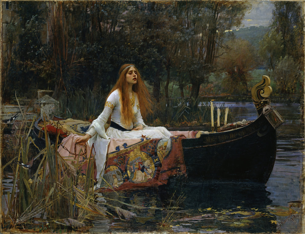 John William Waterhouse   The Lady of Shalott  1888 oil on canvas Tate © Tate