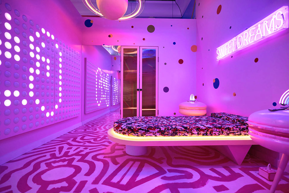 POP-UP IMMERSIVE ART INSTALLATION         SWEET TOOTH HOTEL - DALLAS, TX -  2018