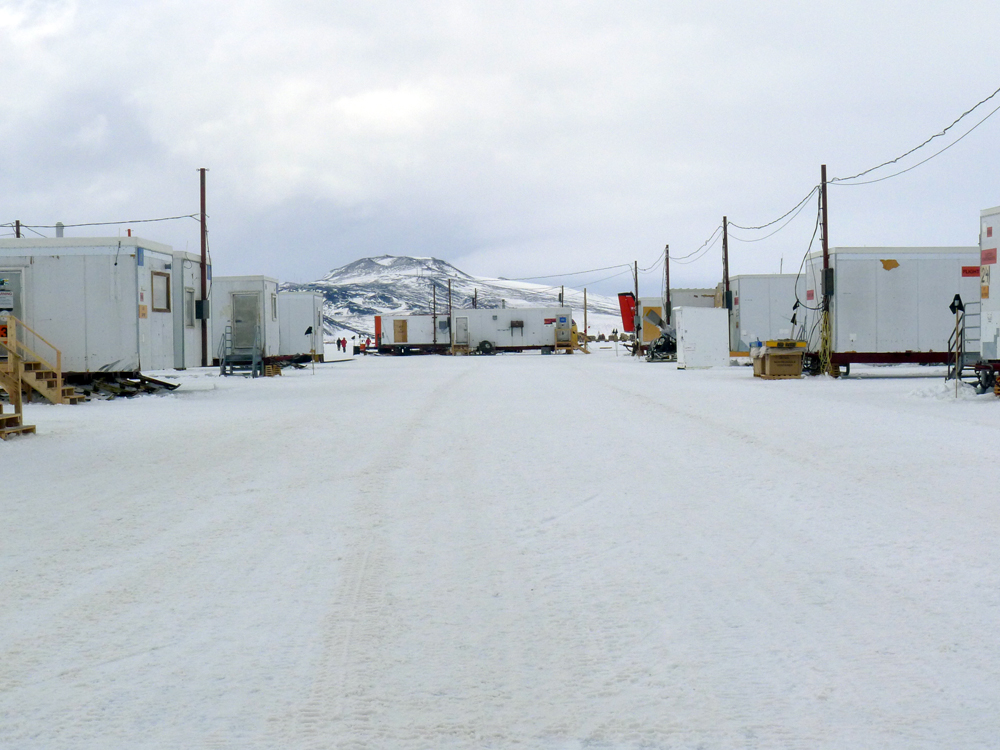 Runway support at McMurdo