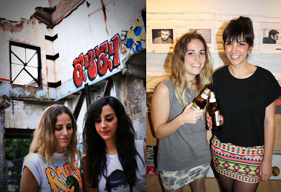 Isabel Francoy y Alicia Álvarez   / FotosEstrella Adé yKiko Alcázar