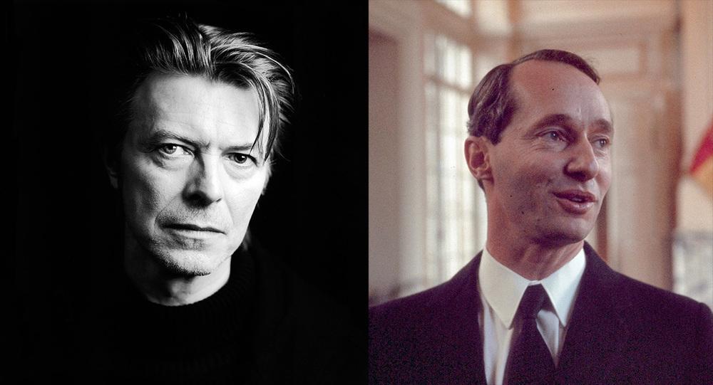 David Bowie / Carlos Hugo de Borbón-Parma
