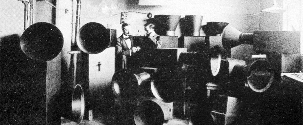 Luigi Russolo y Ugo Plati, 1914