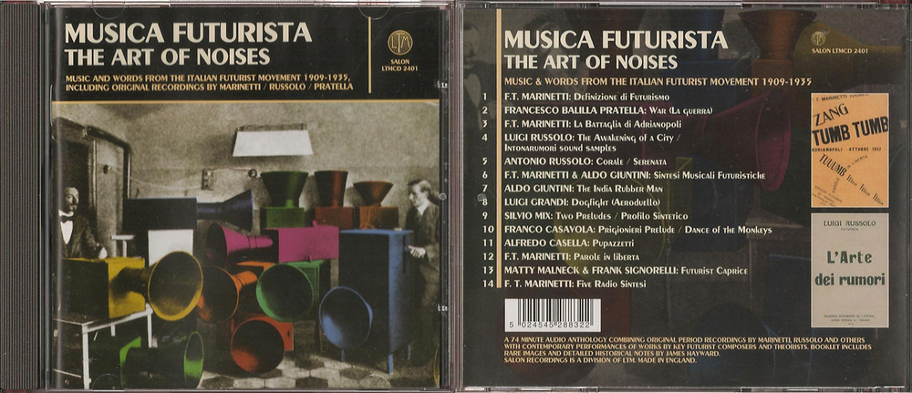 Musica Futurista , The Art of Noises  001 p, LTM, 2006