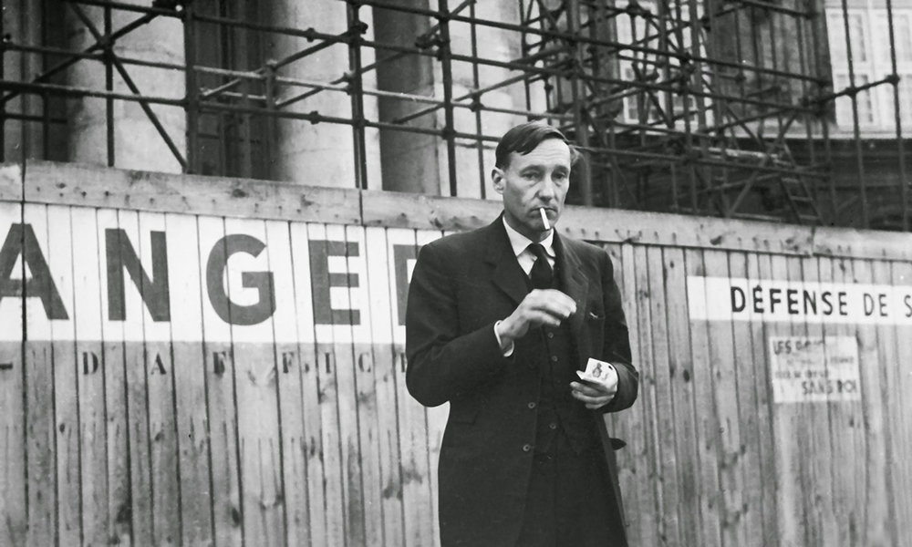 William Burroughs en París