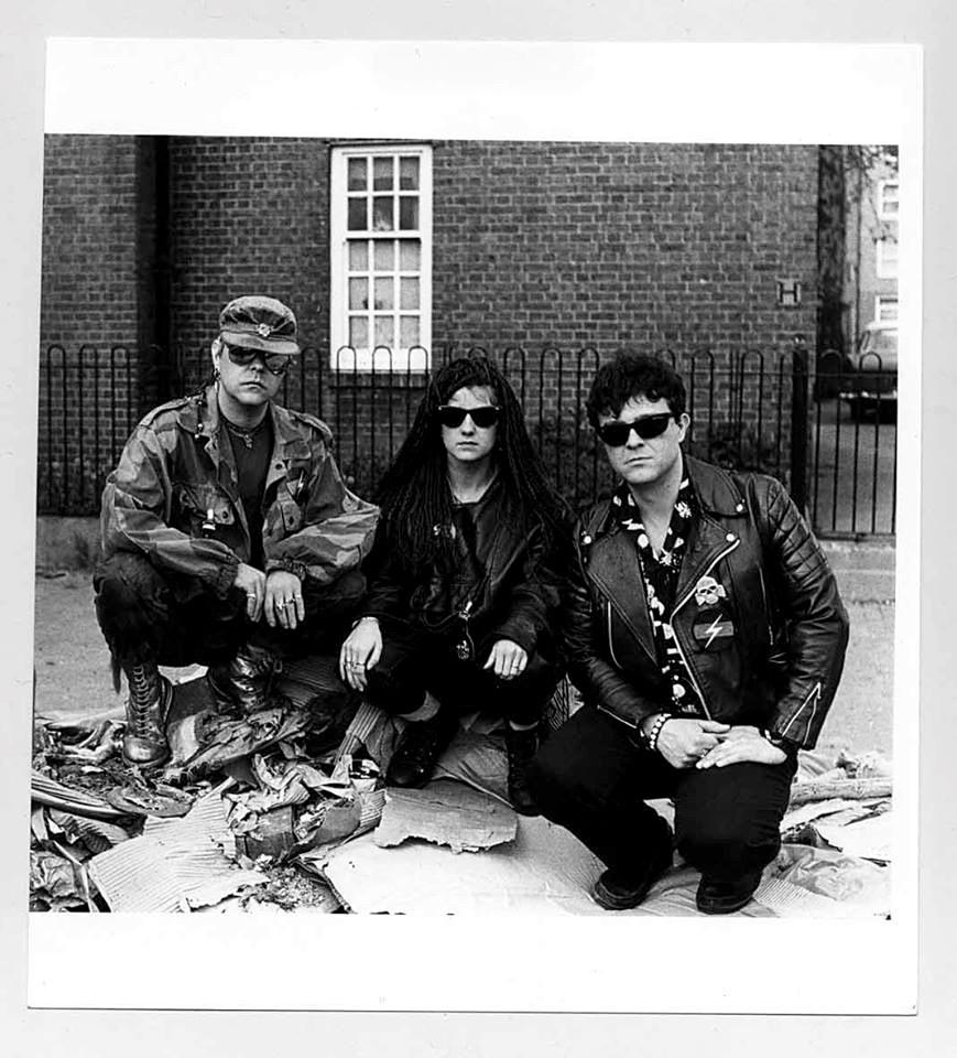 Genesis, Paula y Valls, Hackney, Londres, 1980's