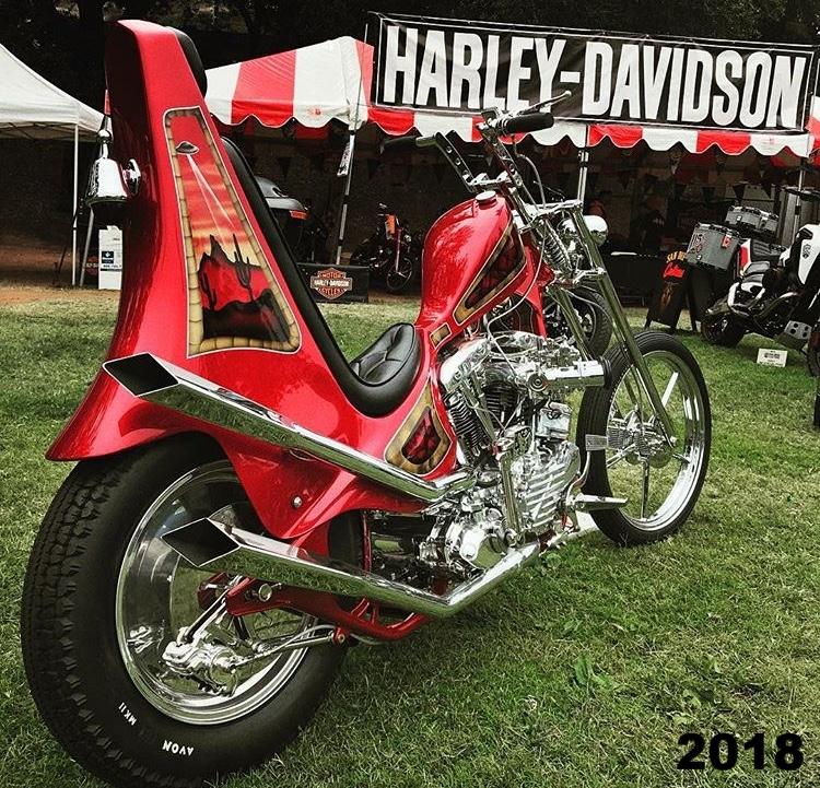 1967 Harley Shovelhead Born Free X Builder