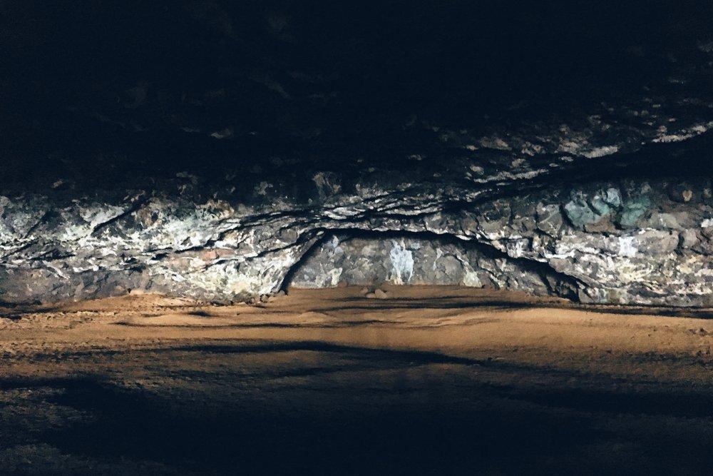 A cave at Ke'e.