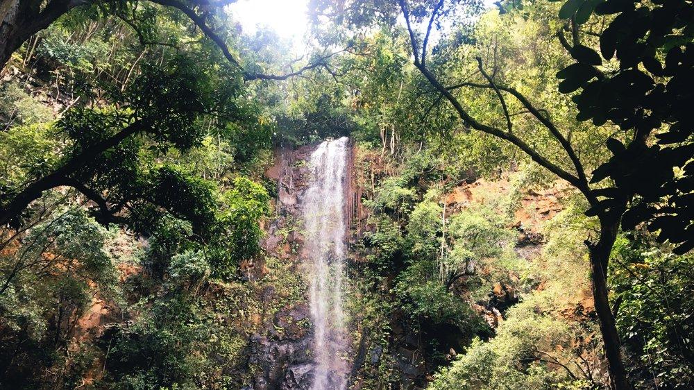 The Secret Falls.
