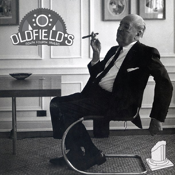 Don't Mies our Oldfield's fundraiser this Friday after studio (5-9pm)! Mention you're part of our group and 25% of your tab will go towards production of Issue 013: Architecture and Politics.