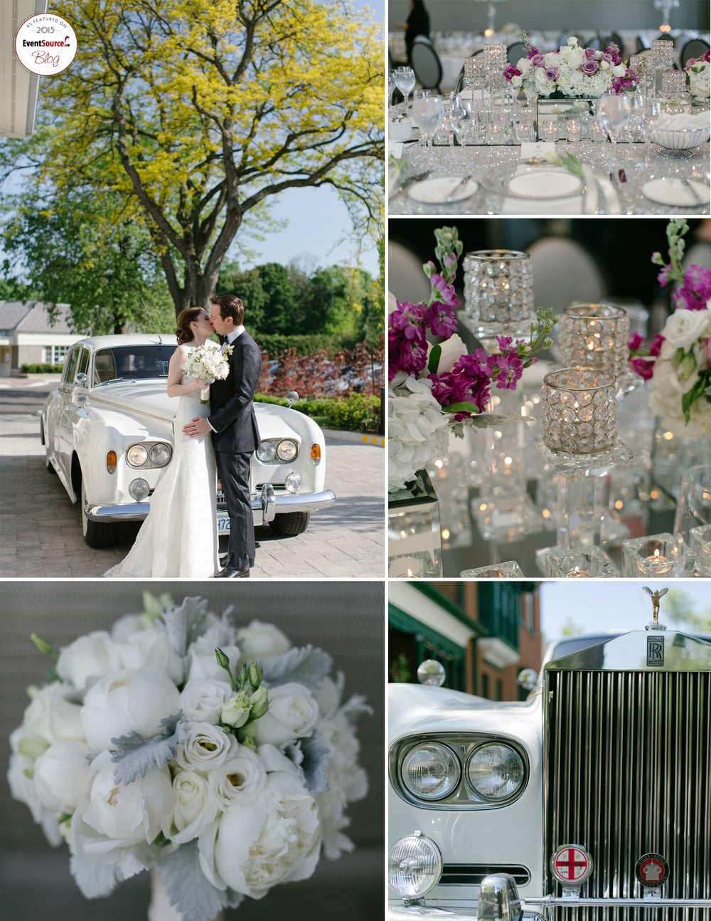 Chic and Sophisticated Spring Wedding