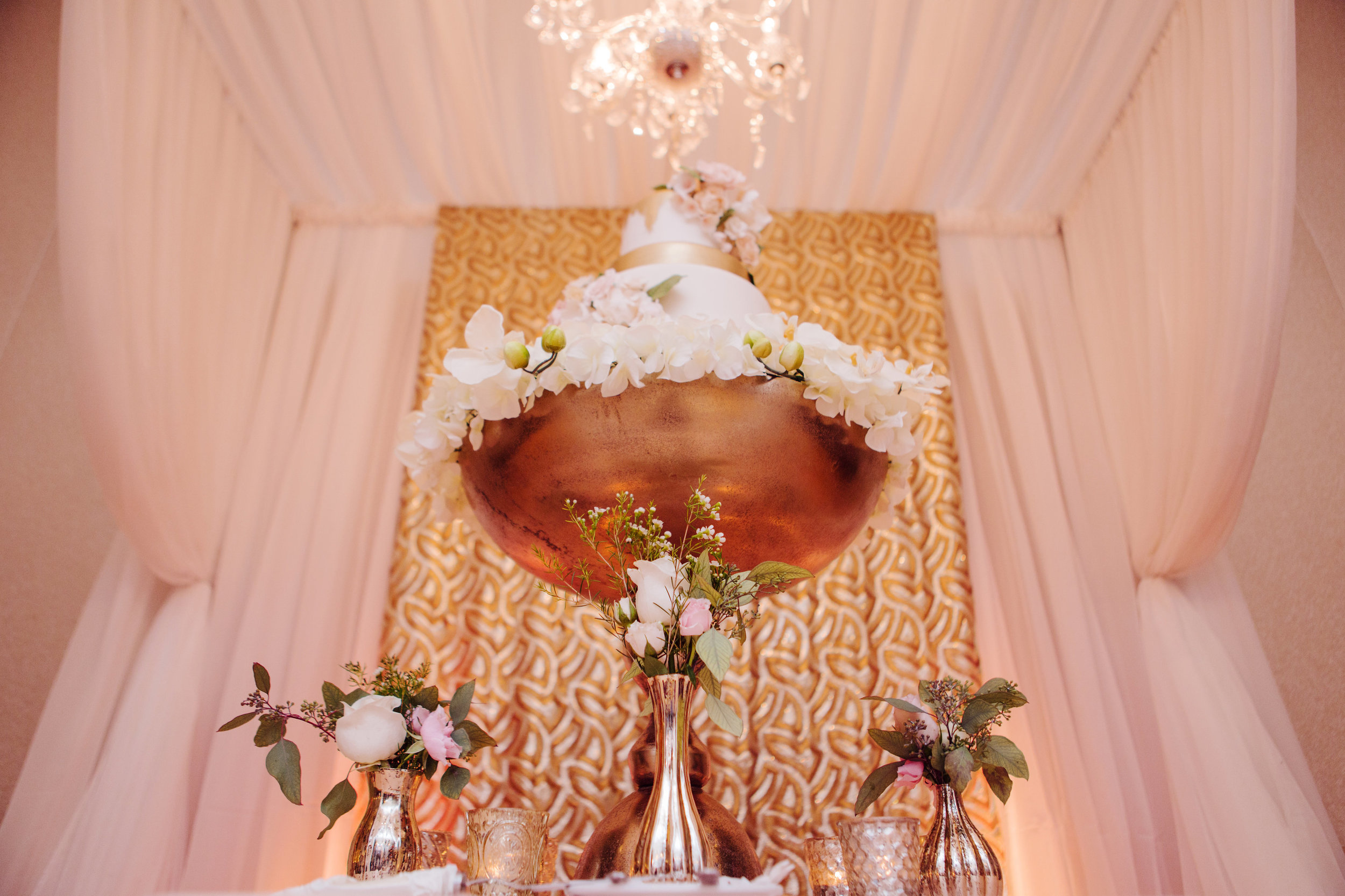 A Luxe Gold & Blush Wedding — Sara Baig Designs