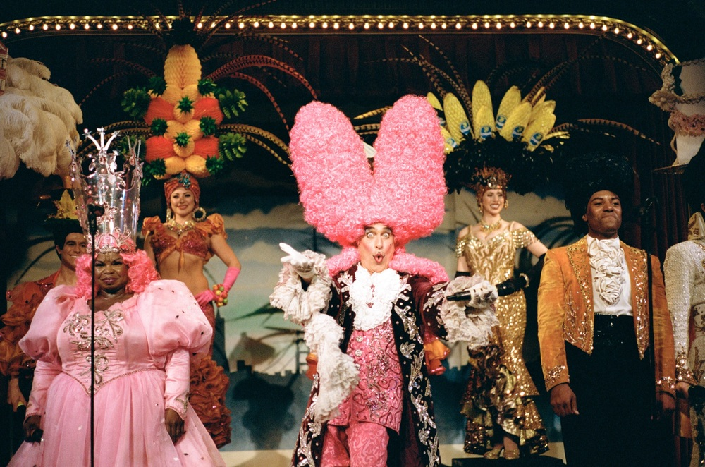 Cast from Beach Blanket Babylon