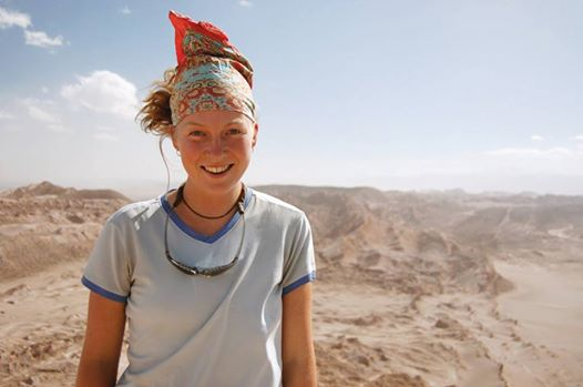 To Learn More About Her Expedition Click on her Photo Above