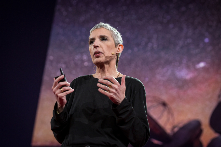 Nathalie Cabrol speaks at TED2015 - Truth and Dare, Session 4, March 16-20, 2015, Vancouver Convention Center, Vancouver, Canada. Photo: Bret Hartman/TED