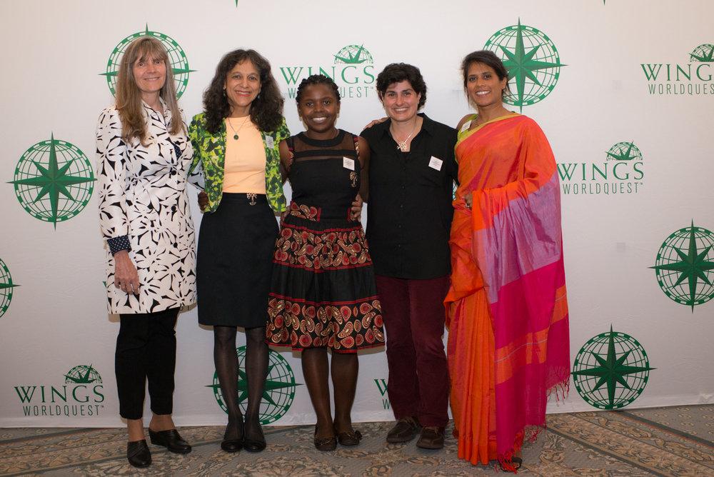 Eleanor Sterling, Nalini Nadkarni, Thandiwe Mweetwa, Nergis Mavalvala, Asha de Vos
