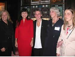 Sue Hendrickson, Ana Pinto, Nathalie Cabrol, Marianne Greenwood, Sabriye Tenberken