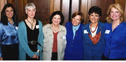 Meenakshi Wadhwa, Anna Roosevelt, Carol Amore, Sylvia Earle, Rosita Arvigo, Marilyn Bridges