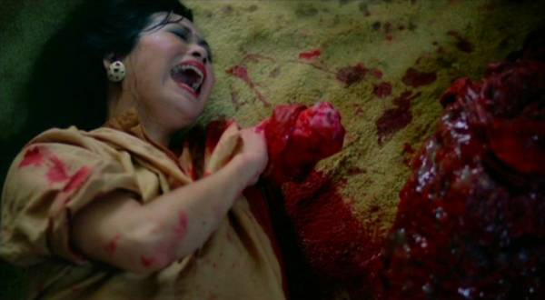 A still from one of the least disturbing sequences in Yang Chuan's SEEDING OF A GHOST (1983)