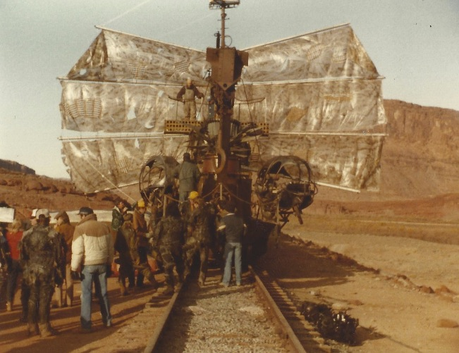 The functionality of this mode of conveyance is a metaphor for the movie as a whole.