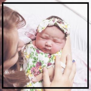 Baby Cecilia Arrives
