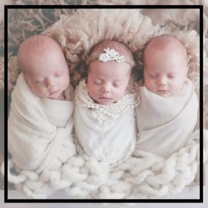Grady, Zeke & Eva Newborn