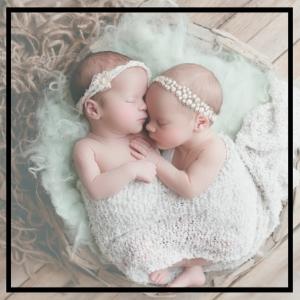 Newborn Leiva Twins