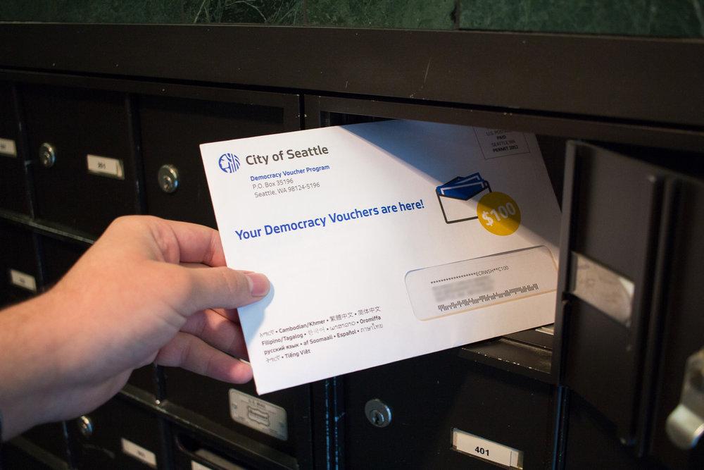 City of Seattle Democracy Voucher Program - Design, printing, mailing